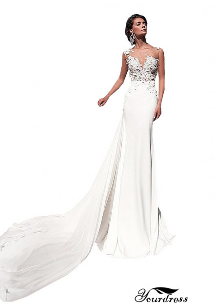 Yourdress Casual Bridal Beach Wedding Dresses