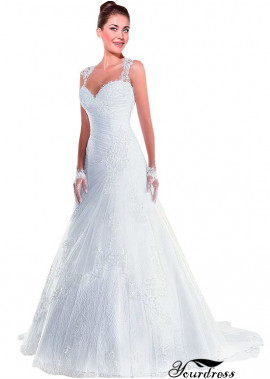 Yourdress Very Cheap Lace Wedding Dress UK Sale
