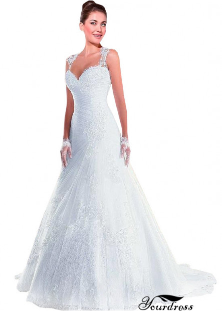 Yourdress Very Cheap Lace Wedding Dress UK Sale