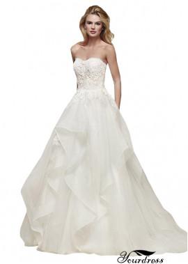 Yourdress Beach Wedding Ball Gowns