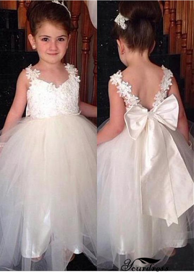 cae52da4f Flower girl dresses boutique malaysia | Keyhole back flower girl ...