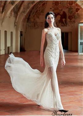 Yourdress Beach Short Wedding Dresses