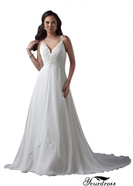 Yourdress Plus Size Wedding Dress