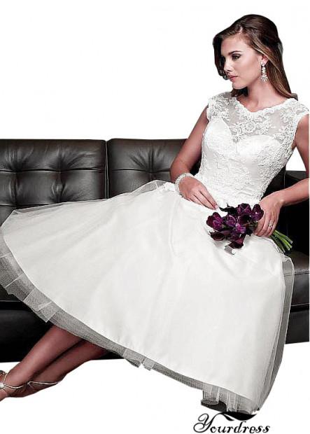 Yourdress Short Wedding Dress Custom Bridal Gowns