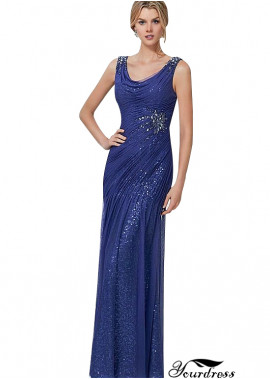 Yourdress Fashion Blackless Evening Dress For Women and Mother