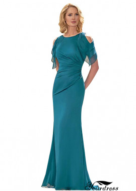 Long Sleeve Sheath Formal Dress For Women and Bride Mother