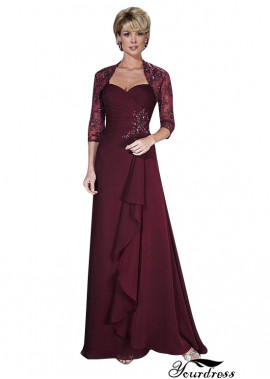 Yourdress Mother Of The Bride Dresses Long With Jacket