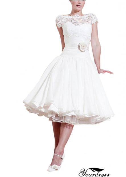 Yourdress Beach Short Wedding Ball Gowns