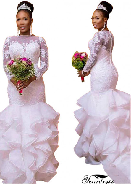 Yourdress Plus Size Bohemian Bridal Gown Dress Wedding