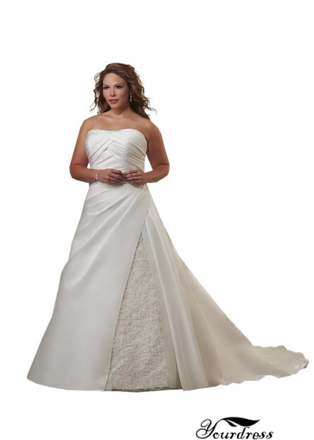 Yourdress Plus Size Wedding Dress