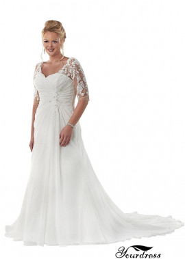 Yourdress Beach Plus Size Wedding Dresses