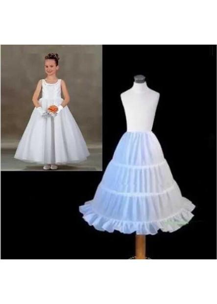 Yarnless flower girl dress skirt children's wedding dress skirt children's dance wedding lining Petticoat T901554187032