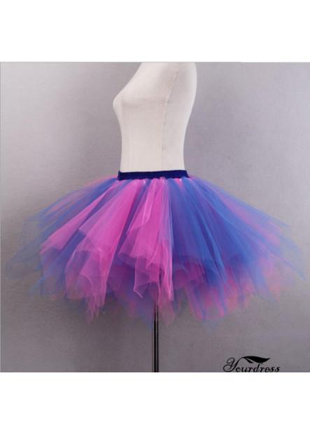 Mixed color versatile half-length pettiskirt Studio wedding photography half-length elastic short skirt Petticoat T901554346447